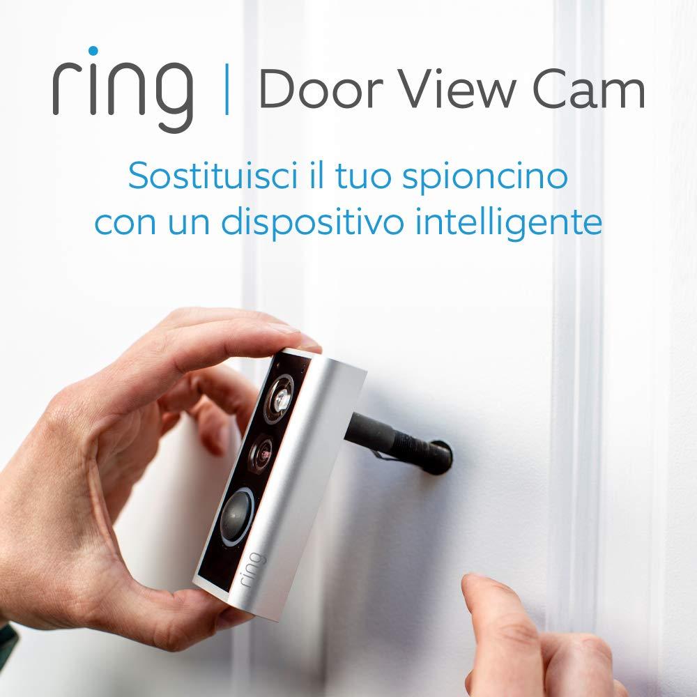 Ring Door View Cam | Il nuovo videocitofono che sostituisce il tuo spioncino, con video in HD a 1080p e comunicazione bidirezionale