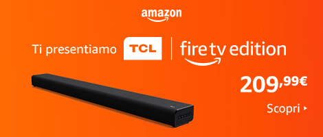 TCL TS8011 Soundbar 2.1 canali con subwoofer integrato – Fire TV Edition