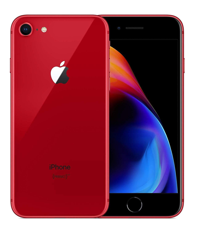 Apple iPhone 8-64 GB - Rosso (Ricondizionato)