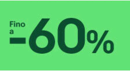 Sconti 60% su prodotti per raffreddore!
