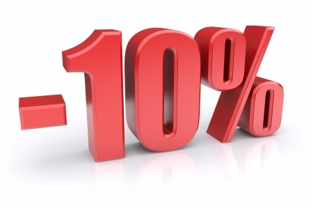 Sconto del 10%