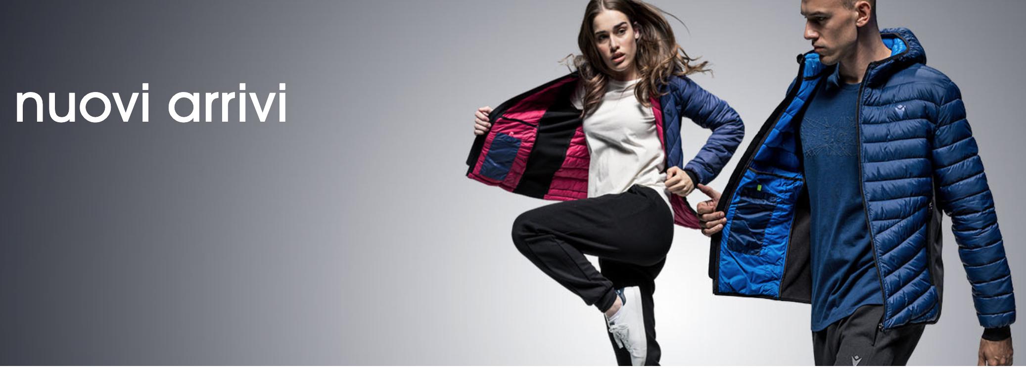 50% di sconto su Macron Athleisure - abbigliamento sports inspired per il tempo libero