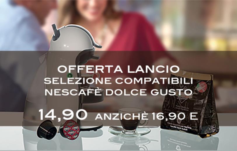 Ampia selezione online di capsule compatibili caffè Dolce Gusto
