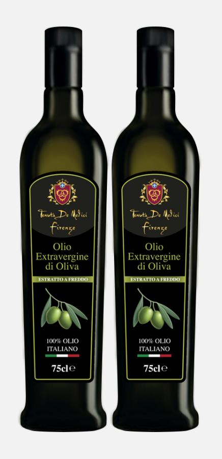 Olio d'oliva 100% italiano